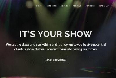 Integrated Marketing Website