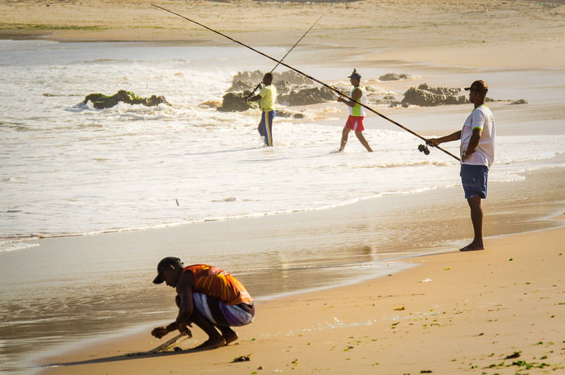 Using A Fishing Rod
