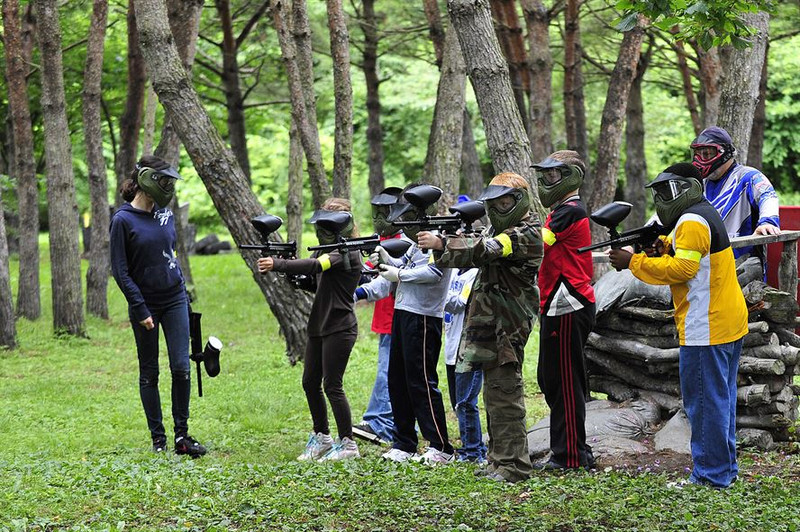 Paintball Markers: For Some Gun Down Actions