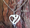 Connected Heart Pendant
